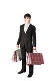 Compra do homem de negócios Imagens de Stock