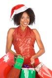 Compra do Natal (étnica)   Foto de Stock