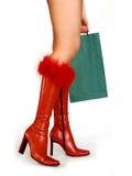 Compra do Natal Fotos de Stock