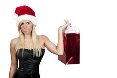 Compra do Natal Foto de Stock Royalty Free