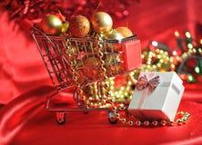 Compra do Natal Fotos de Stock Royalty Free
