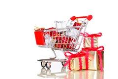 Compra do Natal, idéia para seu projeto Imagem de Stock Royalty Free