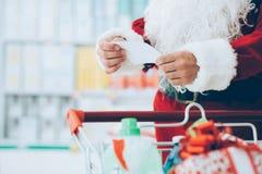 Compra do Natal, idéia para seu projeto Fotos de Stock