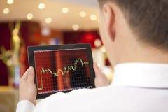 Compra e venda de ações Fotografia de Stock Royalty Free
