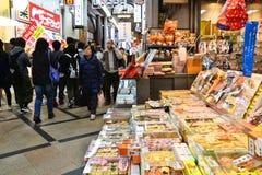 Compra em Japão foto de stock
