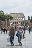 Compra em Roma Imagens de Stock