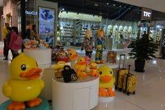 Compra moderna chinesa da alameda Fotografia de Stock Royalty Free