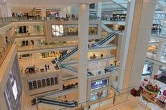 Compra moderna chinesa da alameda Imagem de Stock Royalty Free