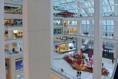 Compra moderna chinesa da alameda Imagens de Stock