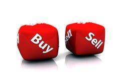 Compra ou Sell Imagem de Stock