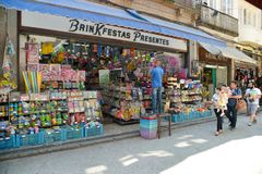 Compra popular da rua Fotos de Stock