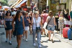 Compra popular da rua Imagem de Stock