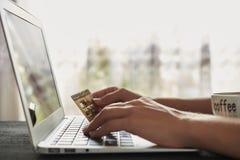Compra y giros postales Imágenes de archivo libres de regalías