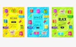 Comprado en el sistema de tarjetas de información de la tienda Plantilla de flyear, revistas, carteles, cubierta de libro, bander libre illustration