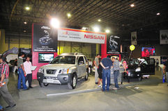 Comprador 2008 de Gitex - presentación de Nissan Imagen de archivo