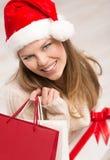 Comprador del día de fiesta Fotografía de archivo libre de regalías