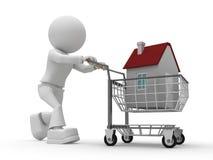 Comprador del edificio Imágenes de archivo libres de regalías
