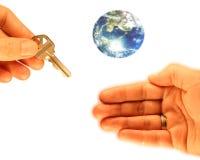 Comprador Home Fotografia de Stock Royalty Free