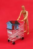 Comprador Home Imagem de Stock Royalty Free