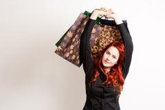 Comprador joven de moda. Fotos de archivo libres de regalías