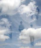 Compradores del cielo Imagenes de archivo