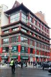 Compradores en Chinatown, New York City Foto de archivo libre de regalías