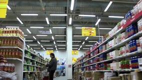 Compradores no supermercado filme