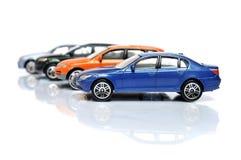 Comprando um carro novo Imagens de Stock Royalty Free