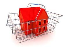 Comprando um conceito da casa Imagem de Stock Royalty Free