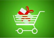 Comprando um presente Fotografia de Stock