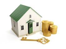 Comprando uma HOME Fotografia de Stock