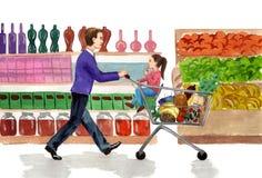 Compras libre illustration