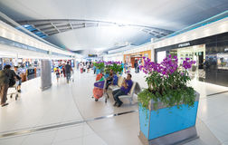 Compras con franquicia, aeropuerto de Bangkok Imagenes de archivo