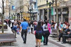 Compras de Curitiba Fotografía de archivo
