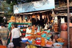 Compras de Diwali Imagen de archivo libre de regalías