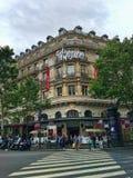 Compras de Galeries Lafayette París Fotografía de archivo libre de regalías