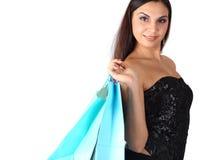 Compras de la mujer Imagen de archivo