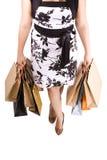 Compras de la mujer Imagenes de archivo