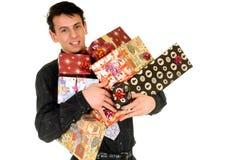 Compras de la Navidad imagen de archivo