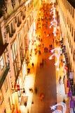 Compras de Lisboa Imagenes de archivo
