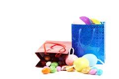 Compras de Pascua Imágenes de archivo libres de regalías