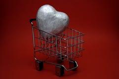 Compras del amor fotos de archivo