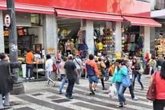 Compras del Brasil Imágenes de archivo libres de regalías