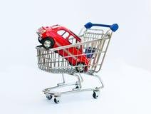 Compras del coche Imagen de archivo libre de regalías