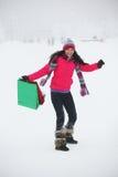 Compras del invierno Fotografía de archivo