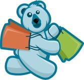 Compras del oso polar Imagenes de archivo
