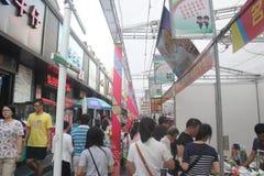 Compras del special de la adquisición para el festival de primavera del pueblo chino en SHENZHEN Imágenes de archivo libres de regalías