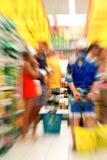Compras del supermercado Imagen de archivo libre de regalías