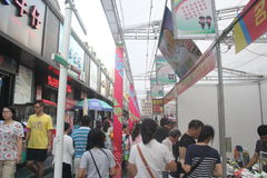 Compras do special da obtenção para o festival de mola do povo chinês em SHENZHEN Imagens de Stock Royalty Free