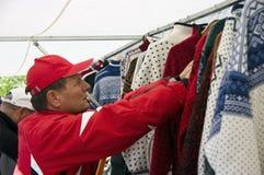 Compras exentas de impuestos en Tromso Imágenes de archivo libres de regalías